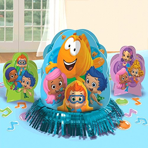 Bubble Guppies Party Table Decorations Kit ( Centerpiece Kit ) 23 PCS - Kids Birthday and Party Supplies Decoration
