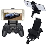 BESSKY Samsung Smart Gameklip Phone Clip Mount for PS3 Pad Controller Universal, Adjustable Viewing Angle
