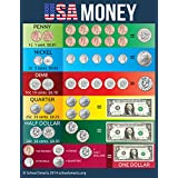 USA Money Chart by School Smarts ?Durable Material Rolled and SEALED in Plastic Poster Sleeve for Protection. Discounts are in the special offers section of the page.