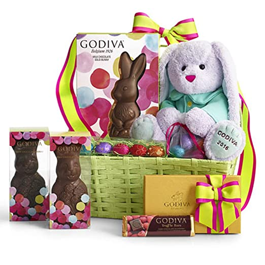 12 great easter gift ideas for adult women gift canyon easter care basket of chocolates negle Image collections