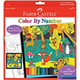 Faber and Castell Color by Number Forest Friends