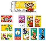 スーパーマリオメーカー スライド缶ケース付きステッカー B BOX商品 1BOX = 6個入り、全10種類