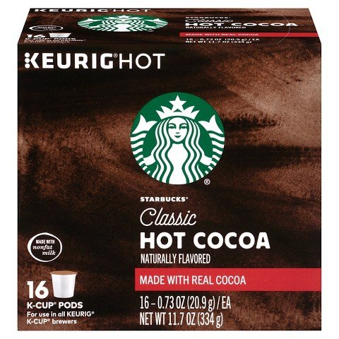 Starbucks Classic Hot Cocoa K-Cups 16 Count (16) (K Hot Chocolate Cups compare prices)