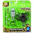 Minecraft Spider Jockey Action Figure Set