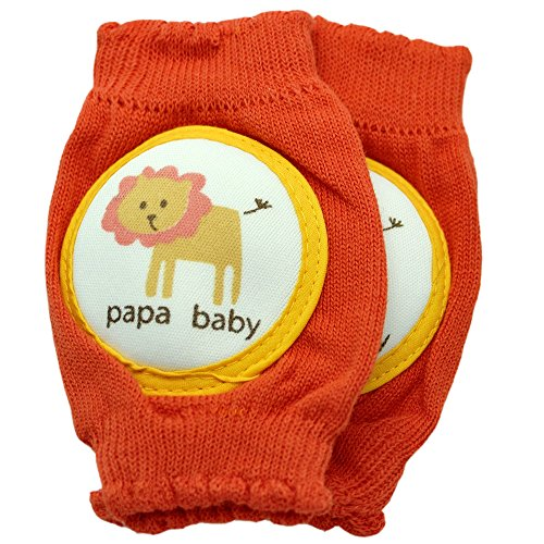 New Baby Crawling Knee Pad Toddler Cotton Elbow Pads 805552 Orange