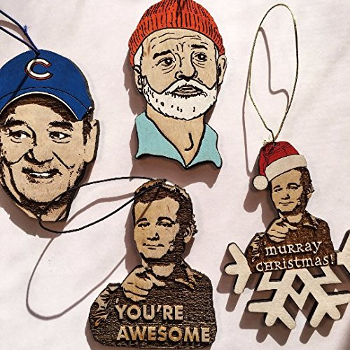 bill-murray-christmas-ornament-pack-world-series-commemorative-gift-hand-painted-wooden-personalized