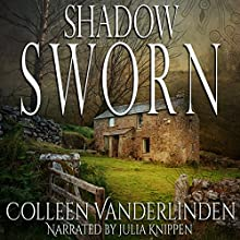 Shadow Sworn: Copper Falls, Book 2 Audiobook by Colleen Vanderlinden Narrated by Julia Knippen