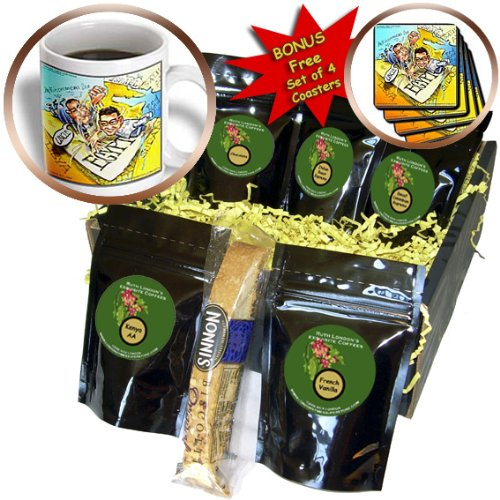 Cgb_12845_1 Londons Times Gen. 2 News Current Events - Arm Wrestling Mubarek Vs Google - Coffee Gift Baskets - Coffee Gift Basket