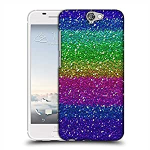 Snoogg cool colourful pattern Designer Protective Back Case Cover For HTC one A9