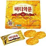 【韓国 お土産】クラウン・バターワッフルクッキー(韓国 クッキー)