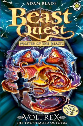 Beast Quest: 58: Voltrex the Two-headed Octopus by Blade, Adam (2012) Paperback (Beast Quest Voltrex compare prices)