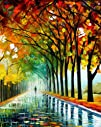"Reflections of the Morning – 16""x20"" Leonid Afremov Mixed Media/giclee Ready to Hang! Ret…."