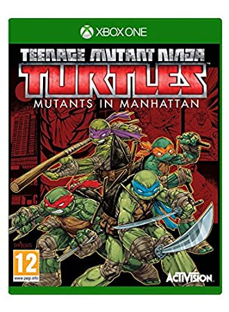 Teenage Mutant Ninja Turtles Mutants in Manhattan - Xbox One