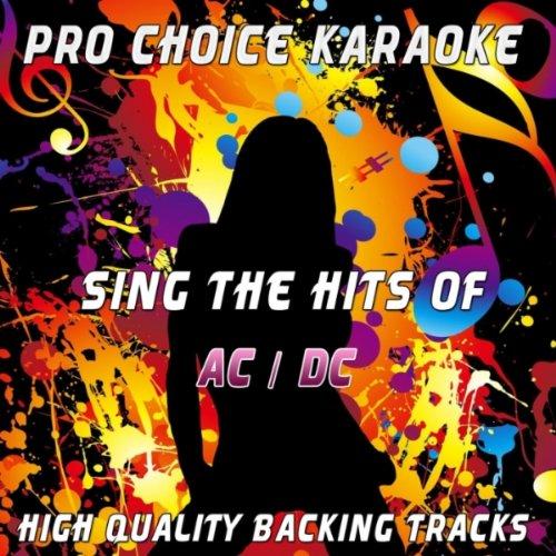 Thunderstruck (Karaoke Version) (Originally Performed By Ac/Dc)