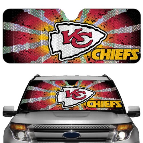 Nfl Kansas City Chiefs Auto Sun Shade
