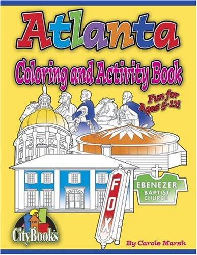 Atlanta Coloring & Activity Book (City Activity Books)