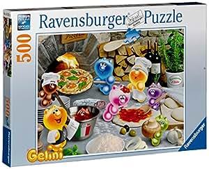Ravensburger 14251 -Gelini Pizza, 500 Teile Puzzle