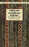 img - for African-American Poetry: An Anthology, 1773-1927 (Dover Thrift Editions) book / textbook / text book