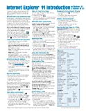 Internet Explorer 11 for Windows 8.1 Quick Reference Guide (Cheat Sheet of Instructions, Tips & Shortcuts - Laminated Card)