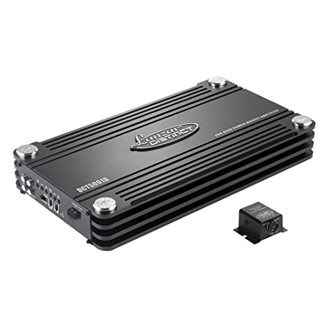 Lanzar DCT5001D Amplificateur digital Monoblock  0,5 Ohm, 5000 W