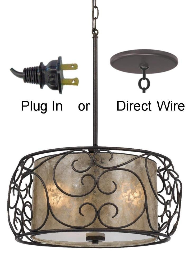 Direct Wiring A Plug In Light