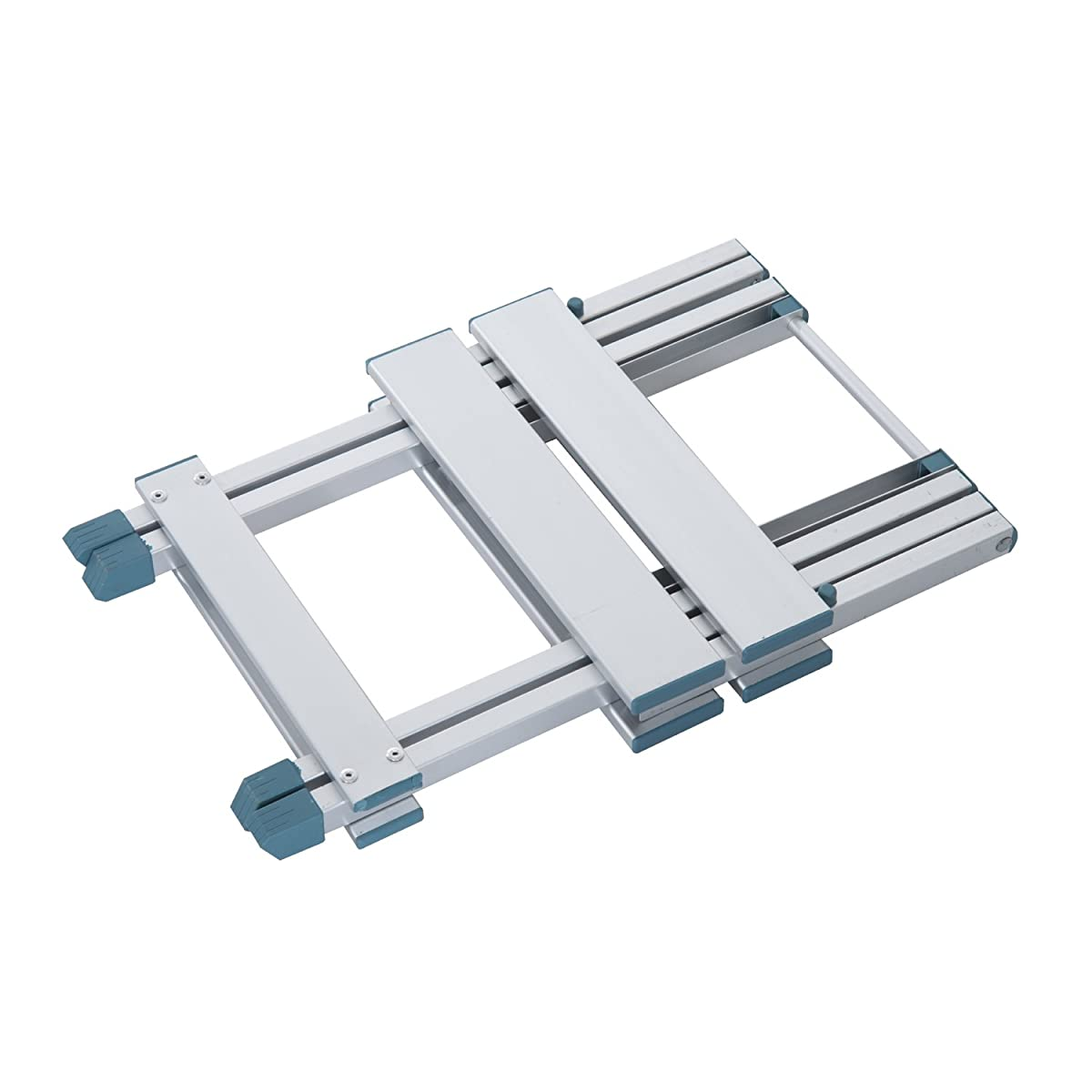 Outsunny 4 Portable Folding Outdoor Picnic Table w/ 4 Seats - Silver