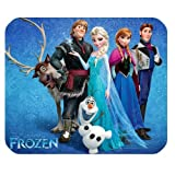 Hot Cartoon Frozen Design Cloth Cover Rectangle Mouse pad Mousepad059