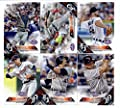 2016 Topps Opening Day Detroit Tigers Team Set of 10 Cards: Justin Verlander(#OD-25), J.D. Martinez(#OD-89), Jose Iglesias(#OD-101), Victor Martinez(#OD-106), Ian Kinsler(#OD-126), Miguel Cabrera(#OD-150), James McCann(#OD-159), Anthony Gose(#OD-160), Nic