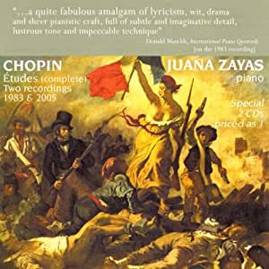 Chopin: 12 Etüden op.10 / 12 Etüden op.25 / Trois Nouvelles Etudes