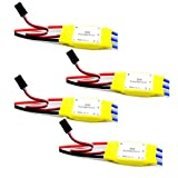 WST 30A Brushless Speed Controller ESC for 4 Axis Multicopter Quadcopter KK Quad-rotor X-copter RC Airplane Helicopter x 4 PCS
