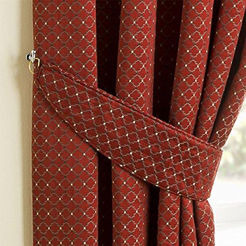 homescapes gardinen raffhalter marrakesch 2 st ck rot. Black Bedroom Furniture Sets. Home Design Ideas
