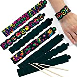 Scratch Art Bracelets 22cm long for Children to Create their own Designs(Pack of 12)