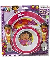 Munchkin Dora The Explorer Toddler Dining Set