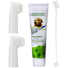 QUMY Toothpaste for Dogs 3.5 oz Pet Dental Care Unit