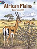 African Plains Coloring Book (Dover Nature Coloring Book)