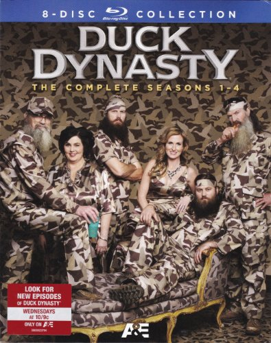 Duck Dynasty: Season 1-4 [Blu-ray]