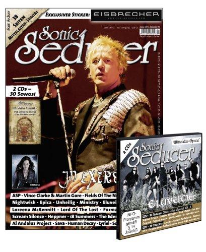 Sonic Seducer 03-12 mit 2 CDs im Digisleeve + 38 Seiten Mittelalter-Special + exkl. Eisbrecher-Sticker + In Extremo-Titelstory, Bands: ASP, Nightwish, ... + Mittelalterspecial + DCD im Digisleeve