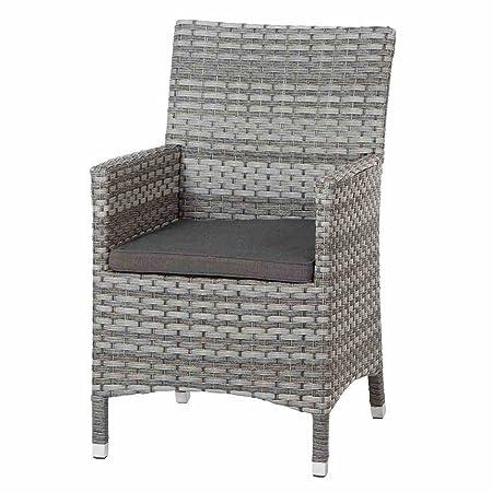 Siena garden 357803 - Sillón soreno, marco de aluminio, gris