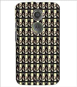 PrintDhaba Pattern D-6085 Back Case Cover for MOTOROLA MOTO X2 (Multi-Coloured)