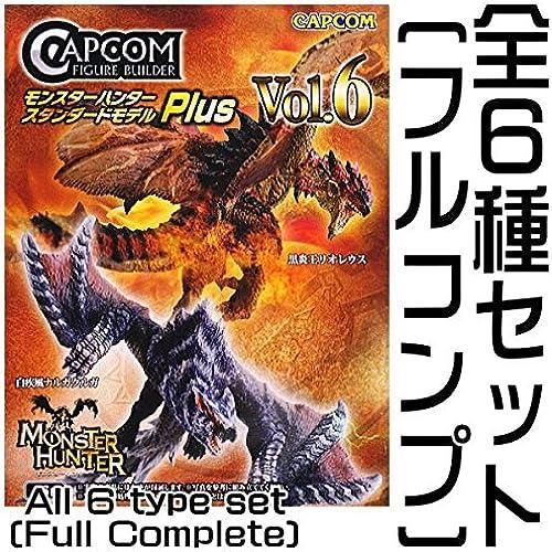 캡콤 피규어 빌더 몬스터 헌터 스탠다드 모델 Plus Vol.6 [전6종 세트(풀 무료 초대권) + 보너스 파트 부착]