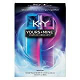 K-Y Yours + Mine Couples Personal Lubricant & Intimate Gel, 2 Count, 1.5 Fl Oz