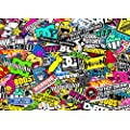 9x A4 Sticker Bombing Sheet - Design 002 - Sticker Bomb - JDM VW DUB