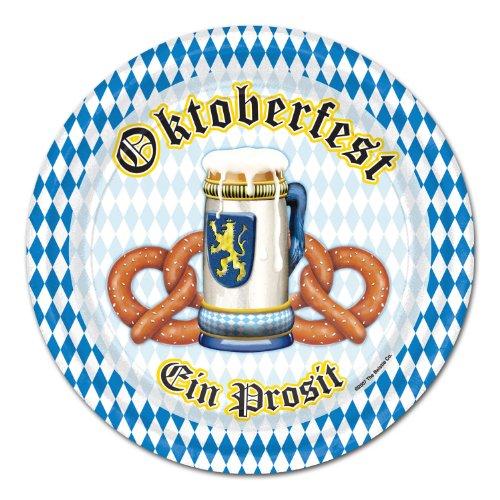 Oktoberfest Plates   (8/Pkg)