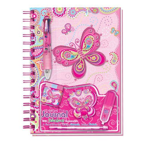 Pecoware Creative Fun Butterfly Journal with Accessories Book
