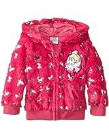 Disney Little Girls' Tinkerbell 1 Pieced Fairy Foil Hoodie