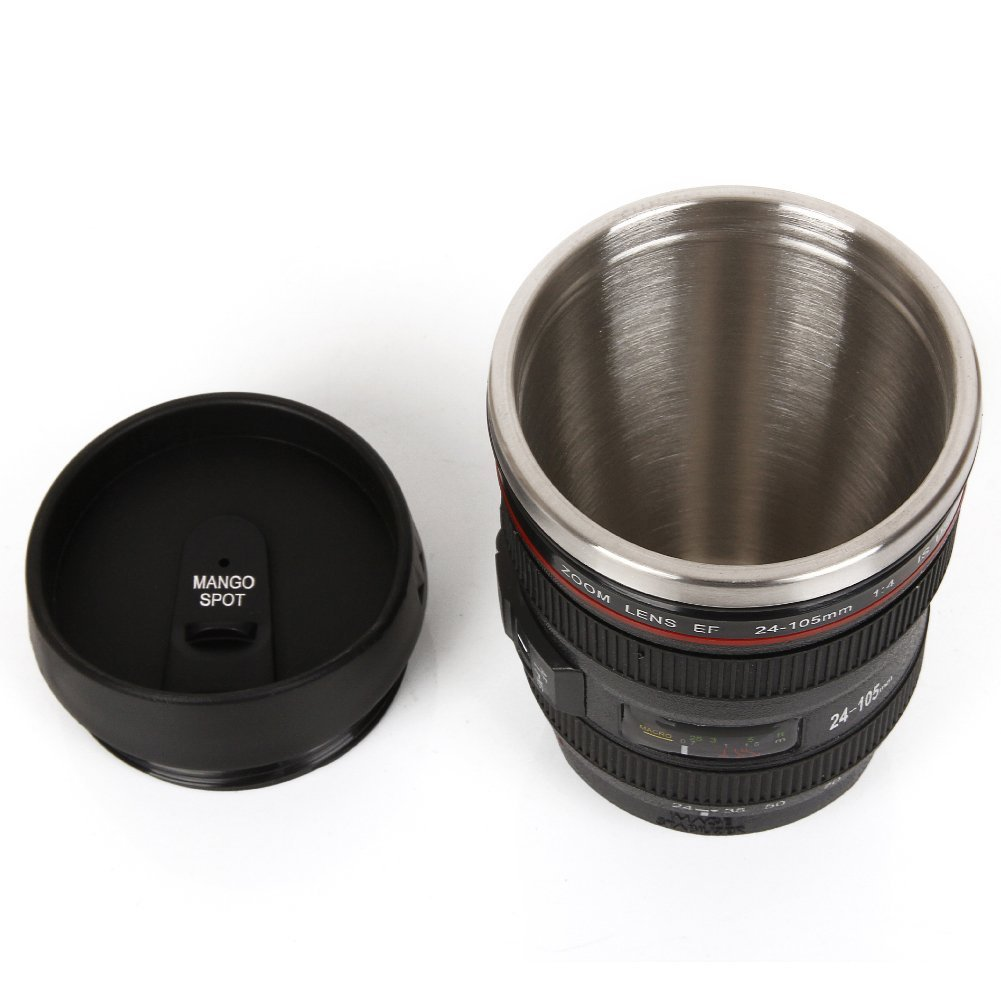 Cup that looks like a camera lens 6