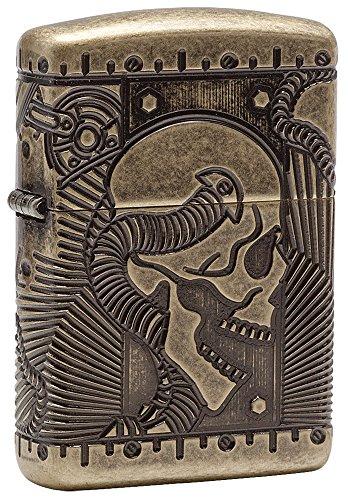 zippo-steampunk-armor-antique-brass-pocket-lighter