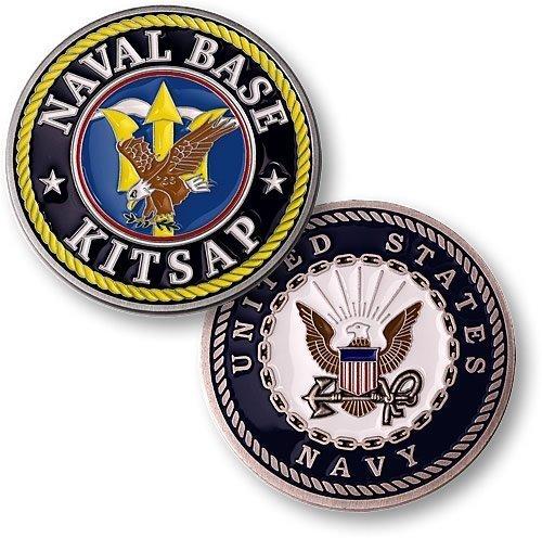 Naval Base Kitsap Challenge Coin - 1