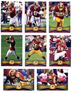 2012 Topps Washington Redskins Football Cards Team Set - 14 cards - includes Robert... by 2012 Topps