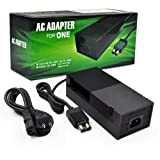 Xbox One Power Brick [Advanced Quiet Edition], Puning AC Adapter Power Supply with Updated Cooling Fan, Xbox One Charger Cable